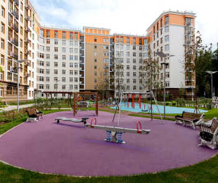 Детская площадка 1 дома